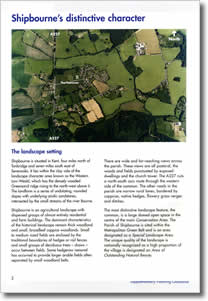 Shipbourne, Kent - Sample Design Statement Page